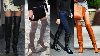 How to Wear Over-the-Knee Boots | Fall Fashion | Style Survival