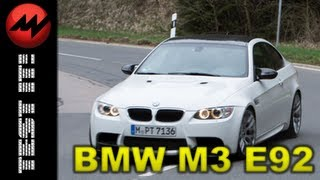 BMW M3 E92 Abschied - Test it