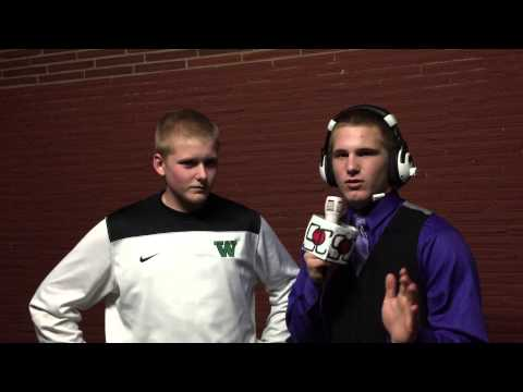 Trent Snead exclusive interview after JV basketball game
