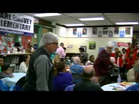 Carl Harvey Elementary School Christmas 2014