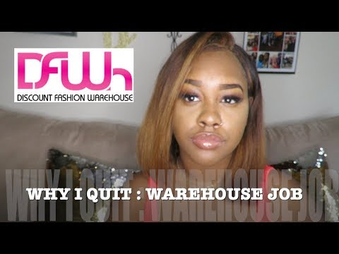 WHY I QUIT MY WAREHOUSE JOB | MY EXPERIENCE | Brece Leeay