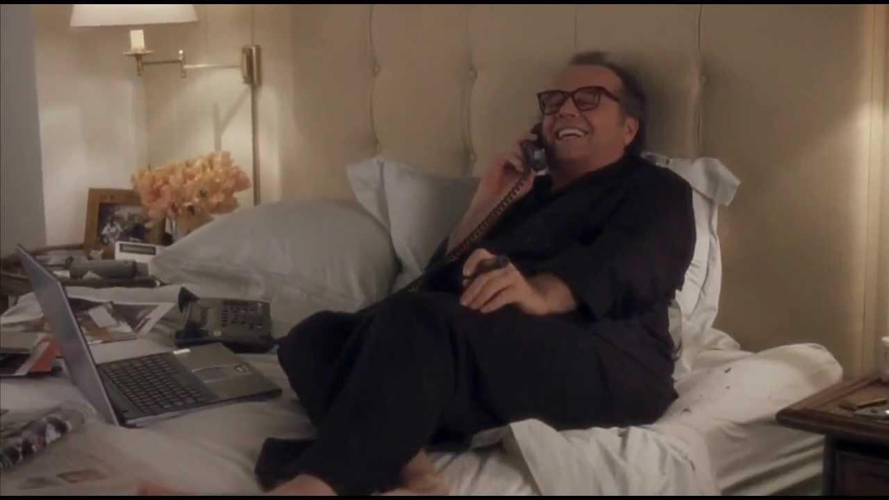Jack Nicholsons Feet Somethings Gotta Give Youtube