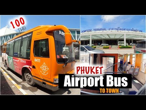 100THB Orange Phuket Airport Bus To Town 🚌 |Essie's lil talk 🇹🇭