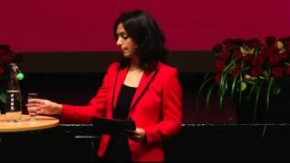 Hadia Tajik presenterer løsningen for morgendagens velferdssamfunn