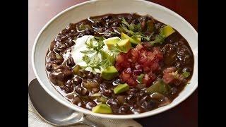 Суп из черной фасоли от Джейми Оливер