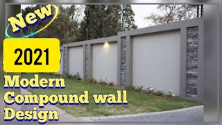 Modern Compound Wall Designs For Home 💖2020💖💖 || New Compound Wall Designs