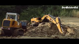 Leśne Manewry / Carson Liebherr Laderaupe LR 634 / Caterpillar 339DL / Zetor 4x4