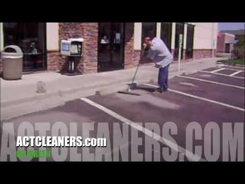 """Asphalt Cleaner , How to clean asphalt parking spot , Asphalt stain remover"""""""