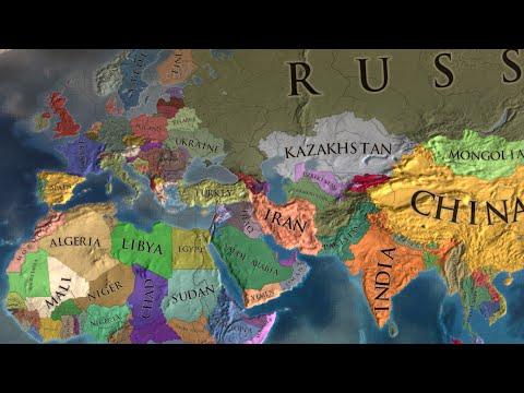 Europa Universalis 4 Timelapse - Modern Day 2
