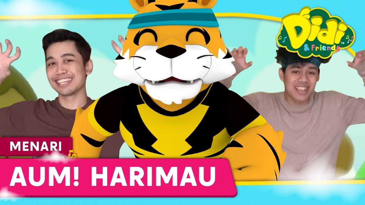 Jom Menari bersama Didi & Friends | Harimau | Lagu baru Didi & Friends
