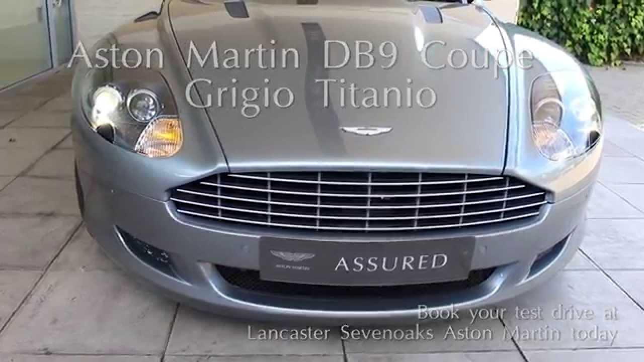 Jardine Motors Group | Aston Martin DB9 Coupe Grigio anio ...