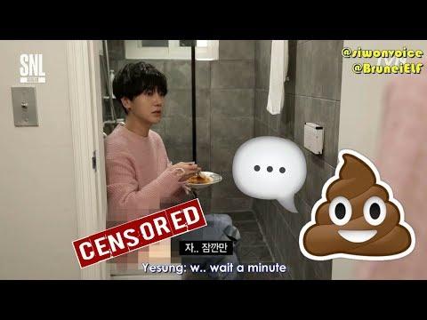 [ENGSUB] 171111 tvN SNL Korea 3-minute boyfriend Yesung (Super Junior)