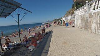 Я первый раз в Морском. Крым. Видео обзор.(Вдоль моря снимали пляж, кафе, цены, жилье, такси ║◇✓ Не забудь подписаться - ║https://www.youtube.com/channel/UCN-PumiCycbmte5Zwdy..., 2016-09-21T20:30:24.000Z)