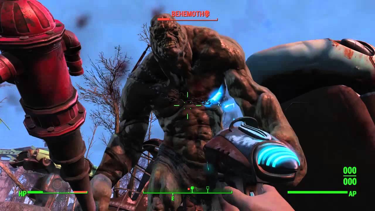 Fallout 4 Stonehenge Monster Easter Egg Youtube