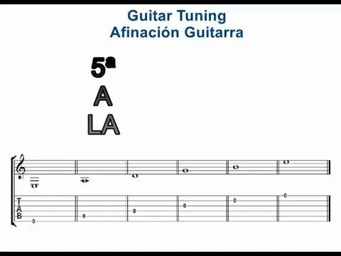 Guitar Tuner En Español : classical guitar tuning afinaci n de la guitarra cl sica spanish guitar tuner standard youtube ~ Hamham.info Haus und Dekorationen