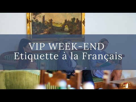 Etiquette, Protocol Course by La Classe Monte Carlo from YouTube · Duration:  1 minutes 3 seconds