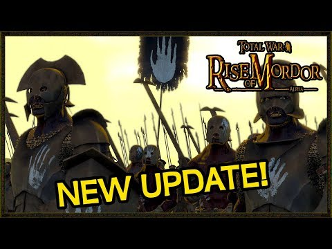 NEW Isengard Unit Update Rise Of Mordor Total War Mod Gameplay