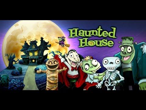 La casa encantada, un cuento de Halloween
