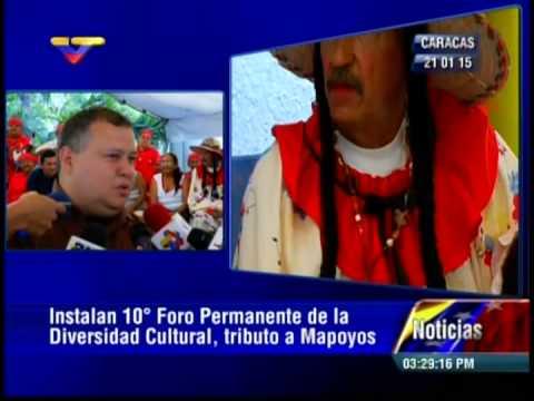 Instalan 10mo Foro de Diversidad Cultural, tributo a los Mapoyo