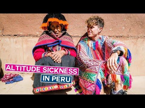 Dealing with Altitude Sickness   Peru Vlog