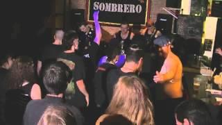 COMA IV - Cracked Brain - Live au Sombrero Café Aout 2014