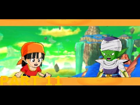 Lets Play Dragon Ball Z Fusions Part 11 cell side quest pantie thief and tiny demon king!