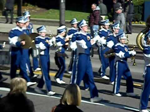 Bexley High School Marching Band Veterans Day Parade ...