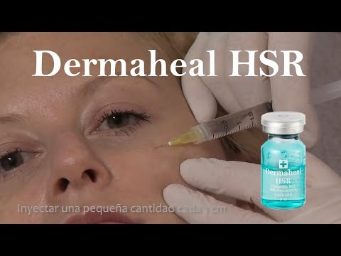 Dermaheal HSR producto de mesoterapia para rejuvenecimiento estrías y cicatrices de acné
