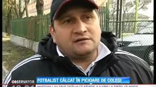 Un fotbalist de 17 ani a fost batut pana a lesinat! Portarul echipei de juniori Steaua Buc ...
