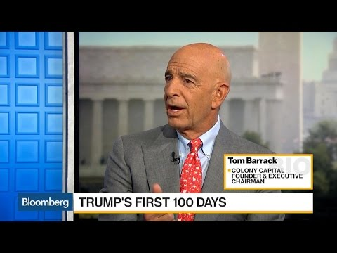 Tom Barrack on Donald Trump's Inauguration and Cabinet Picks
