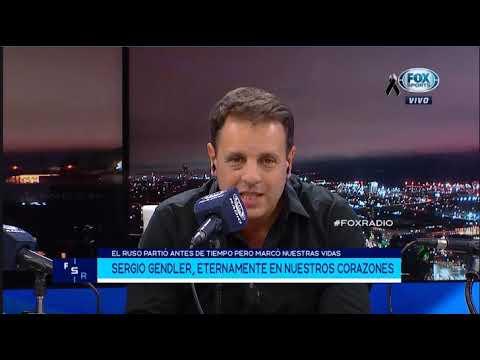 FOX RADIO 13 DE JUNIO DESPEDIDA A SERGIO GENDLER