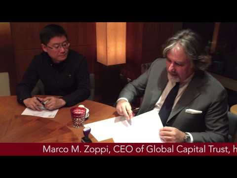 """Global Capital Trust & Industrial Union for Wenzhou area"" - January 19, 2015 - Shanghai, China"