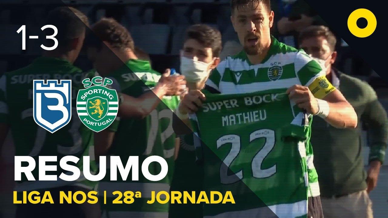Белененсиш  1-3  Спортинг Лиссабон видео
