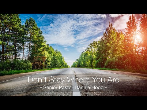 Sunday 10.03.21 | Senior Pastor Dannie Hood