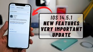 iOS 14.5.1 New Update | New Features | Very Important fixes