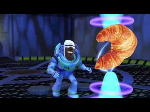 FROZONE TRIES TO STEAL CARL'S CROISSANT