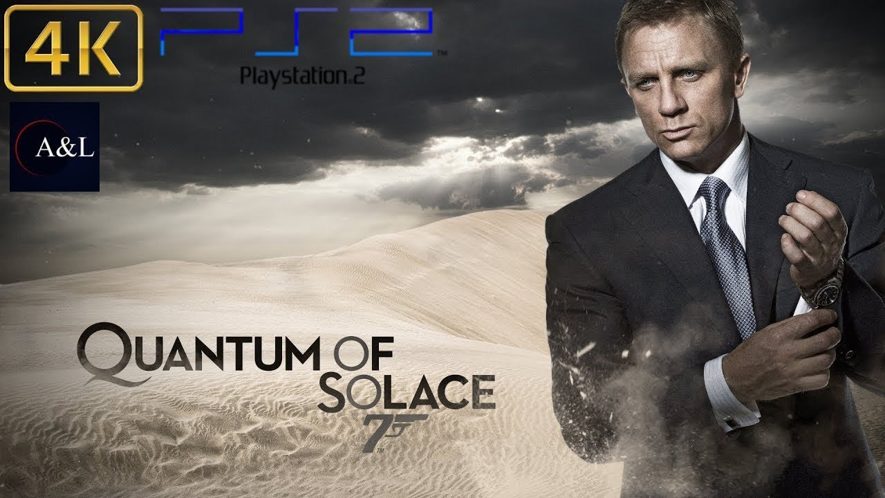 Ps2 007 Quantum Of Solace Longplay 4k 60fps Youtube