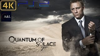 PS2 - 007: Quantum of Solace - LongPlay [4K: 60FPS]