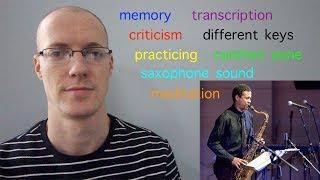 vlog91 saxophone wisdom from mark turner