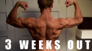 Posing+flexing 3 Weeks Out + Contest Prep Updates!