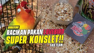 Racikan Pakan Lovebird SUPER KONSLET SKR