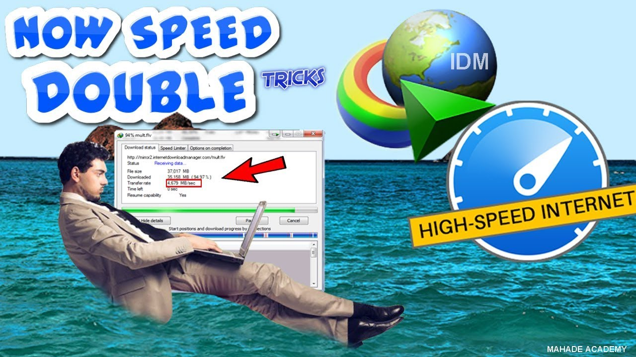 High speed downloads: 60+ download managers.