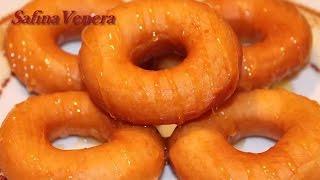 КОЛЕЧКИ. ПОНЧИКИ в форме колечек. Рецепт вкуснейших дрожжевых пончиков.