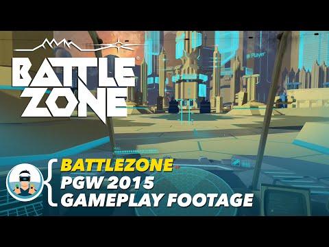 Battlezone - Paris Games Week 2015 Gameplay Footage | PlayStation VR