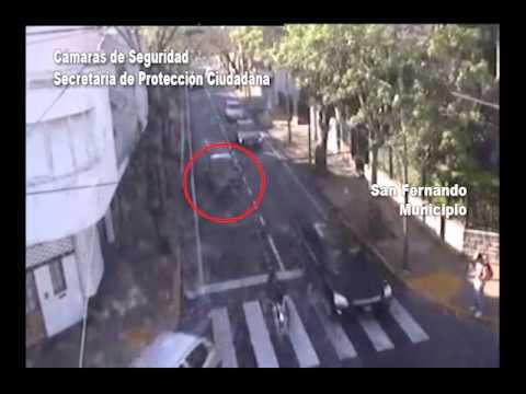 Cámaras de San Fernando vieron al auto del empresario desaparecido