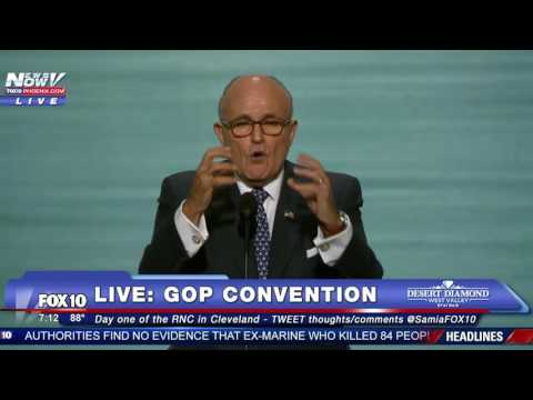 MUST WATCH: Rudy Giuliani Speaks PASSIONATELY at Republican National Convention - FULL SPEECH