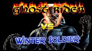 Marvel Contest of Champions - Ghost Rider Rank 5 vs Realm of Legends Winter Soldier