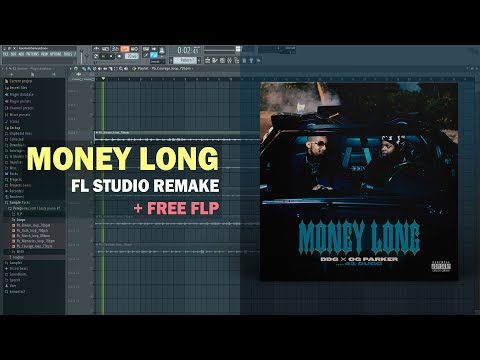 DDG x OG Parker – Money Long ft. 42 Dugg (Instrumental) + Free FLP Remake