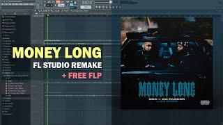 DDG x OG Parker - Money Long ft. 42 Dugg (Instrumental) + Free FLP Remake