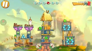 ANGRY BIRDS 2 - Cobalt Plateaus : Greenerville - Level 154